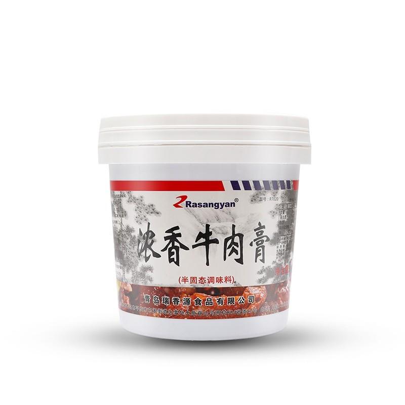 瑞香源半固态调味品R7020浓香牛肉膏调味料