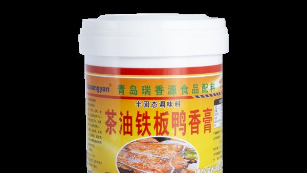 瑞香源茶油铁板鸭香膏的使用方法